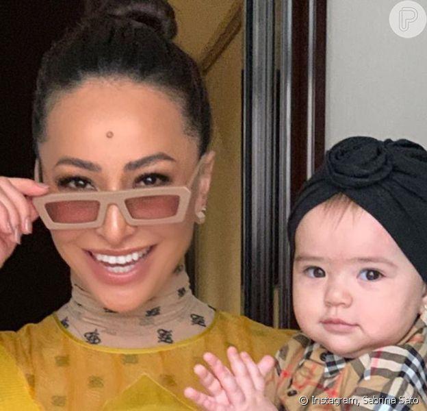 Sabrina Sato mostrou evolução da filha, Zoe, em vídeo nesta segunda-feira, 2 de dezembro de 2019