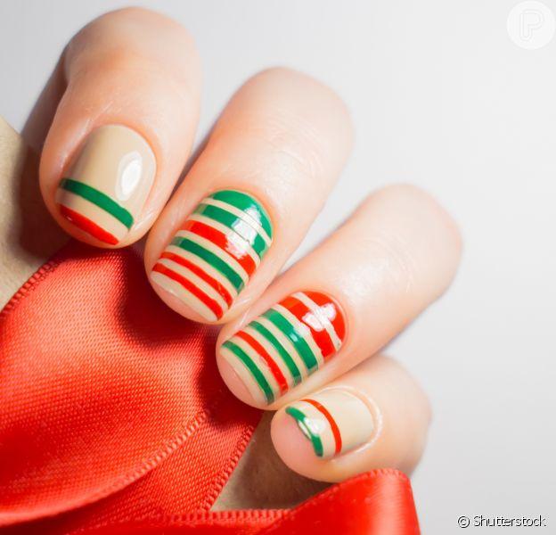 Unha para o Natal: 10 opções de nail art para usar na ceia!