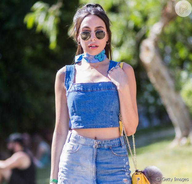 Moda jeans no verão: 10 looks com calça, saia e top em denim para usar na estação mais quente do ano com muito estilo. Fotos!