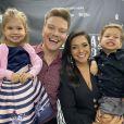 Thais Fersoza e Michel Teló são pais de Melinda, de 3 anos, e Teodoro, de 2