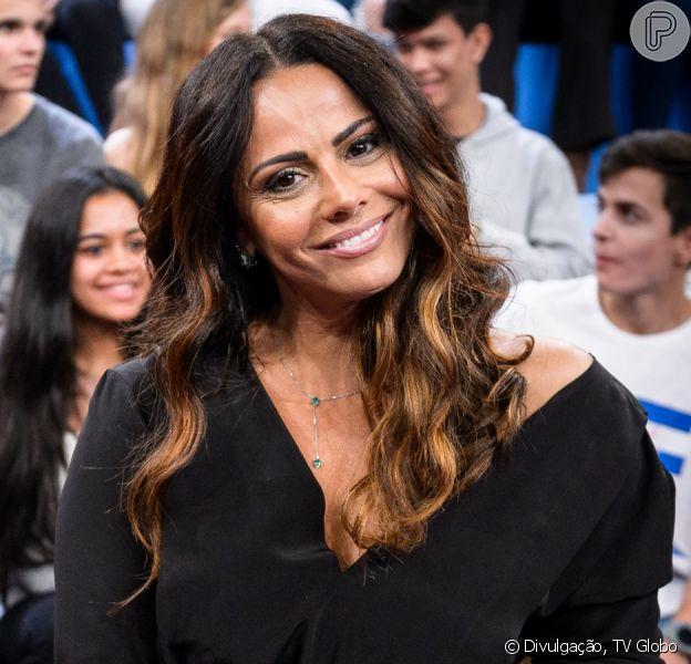 Viviane Araujo está namorando