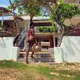 Iza está de férias no Ceará e tem compartilhado fotos da viagem