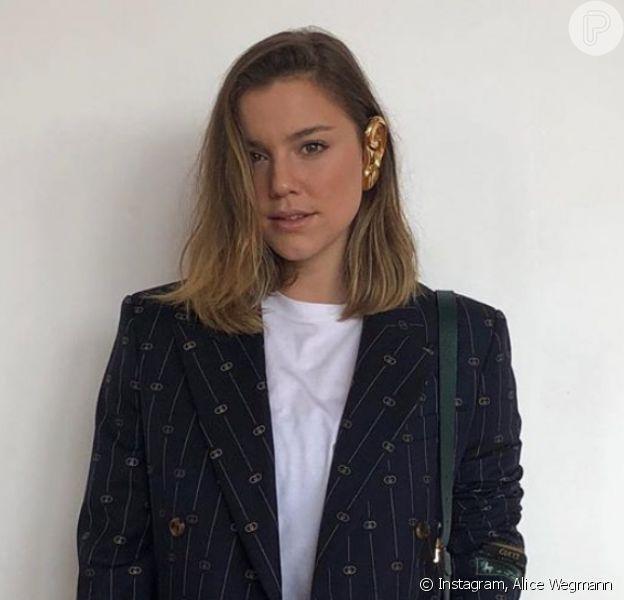 Namoro de Alice Wegmann e Miguel Ribas chega ao fim, como confirmou assessoria de imprensa da atriz ao Purepeople nesta segunda-feira, dia 06 de janeiro de 2019