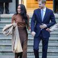 Meghan Markle e o marido, Príncipe Harry, optaram por passar as festas de fim de ano fora da Inglaterra