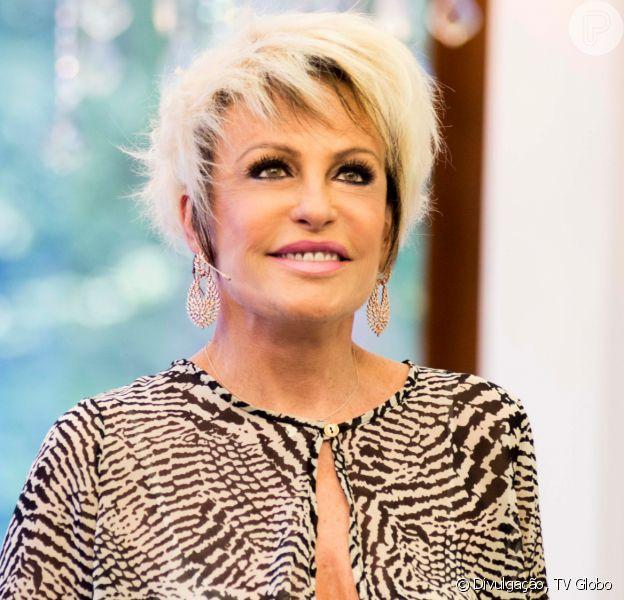 Ana Maria Braga agradeceu apoio do público após revelar câncer no pulmão nesta segunda-feira, 27 de janeiro de 2020