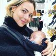Carol Dantas viajou para Paris com Davi Lucca e seu filho mais novo, Valentin