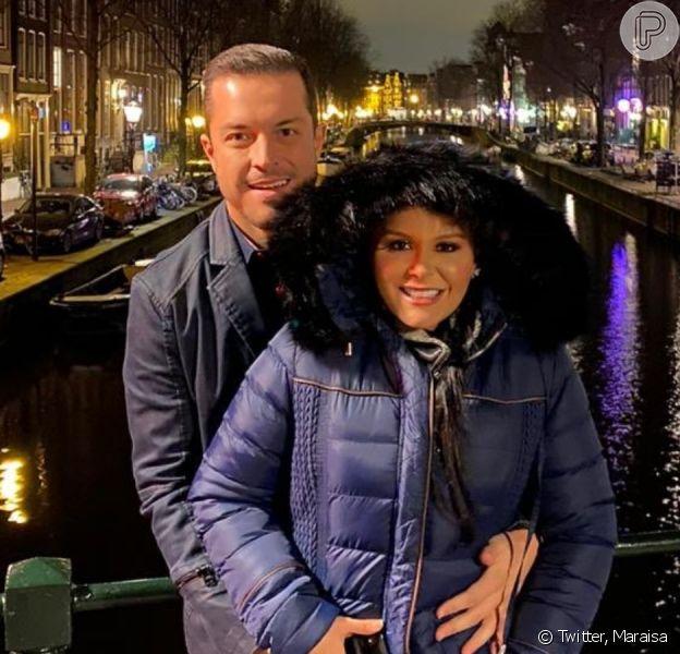 Maraisa abre álbum de fotos com novo namorado na Europa nesta sexta-feira, dia 07 de fevereiro de 2020