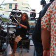 Filho de Ivete Sangalo, Marcelo costuma ser visto tocando percussão em show da mãe