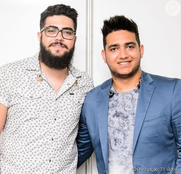 Henrique, da dupla com Juliano, publicou foto com Marília Mendonça e cantora se declarou para sertanejo neste sábado, 15 de fevereiro de 2020