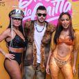De mico leão, Anitta recebe Gretchen, Lexa e Pedro Sampaio em bloco e encerra Carnaval em São Paulo neste domingo, dia 01 de março de 2020