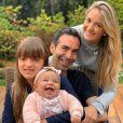 Ticiane Pinheiro elogiou atuação de Cesar Tralli como pai