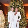 Xuxa Meneghel e Junno Andrade ganharam comentários de famosos na foto do ator com look fetichista
