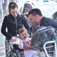 Thaeme Mariôto e o empresário Fábio da Lua são pais de Liz, de 10 meses