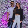 Carla Prata falou sobre fim do namoro com Mariano, da dupla com Munhoz