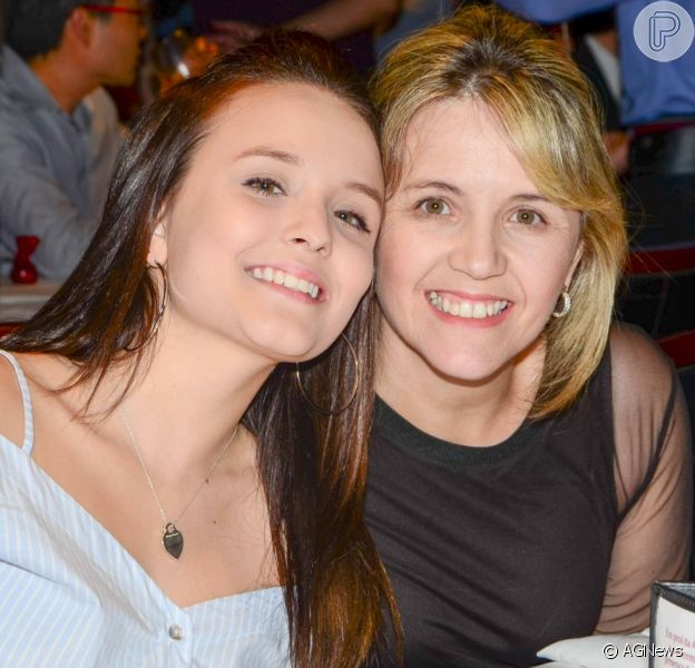 Larissa Manoela e a mãe, Silvana Elias,