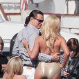 Leonardo DiCaprio é clicado rodando 'The Wolf of Wall Street' de Martin Scorsese