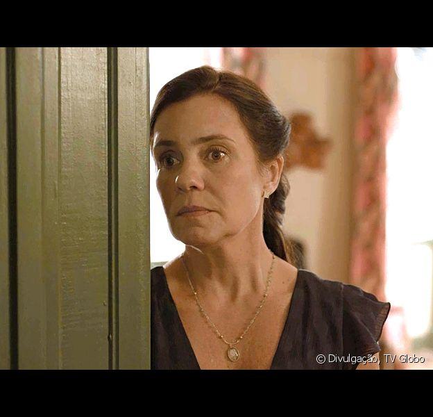 Novela 'Amor de Mãe': Thelma (Adriana Esteves) mata pela segunda vez para proteger segredo sobre Danilo (Chay Suede) ser Domênico, filho perdido de Lurdes (Regina Casé)