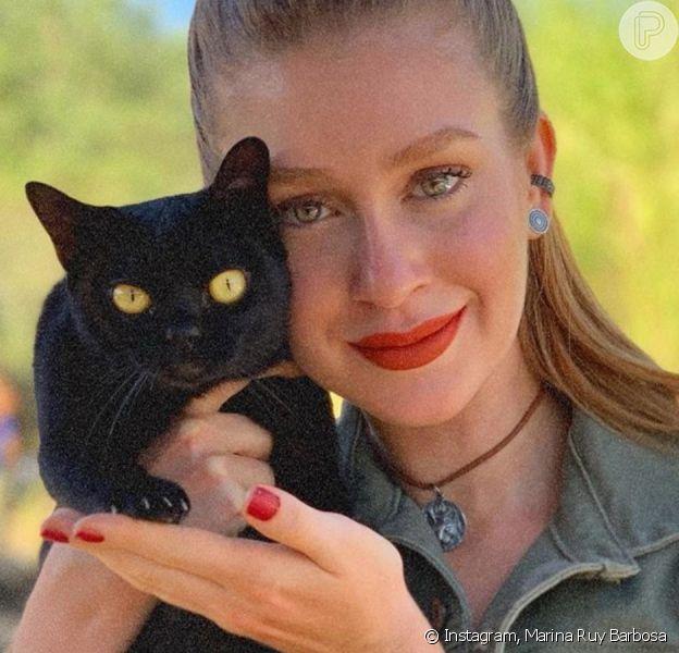 Marina Ruy Barbosa estrela campanha de apoio aos animais