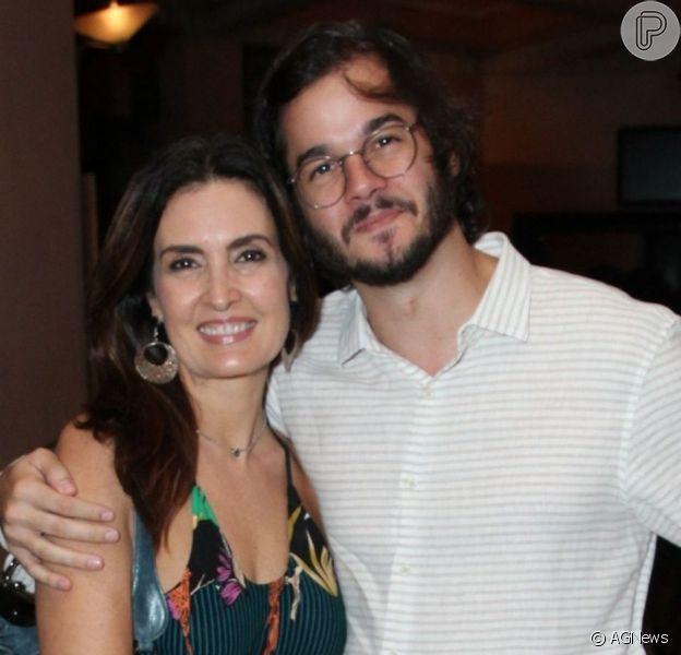 Fátima Bernardes apoia Túlio Gadêlha após morte da avó dele em post nesta segunda-feira, dia 16 de março de 2020
