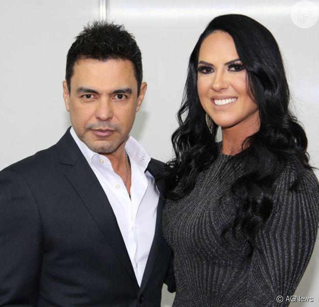 Graciele Lacerda contou que noivo, Zezé Di Camargo, cancelou shows por coronavírus