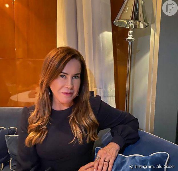 Zilu Godoi tem novo namorado, diz a colunista Fábia Oliveira, do jornal 'O Dia', neste sábado, 21 de março de 2020