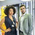 Na novela 'Salve-se Quem Puder', Renatinha (Juliana Alves) chantageia Kyra (Vitória Strada) para ficar com Rafael (Bruno Ferrari)