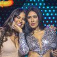 Simone e Simaria realizaram a primeira live juntas na quarentena neste domingo, 22 de março de 2020