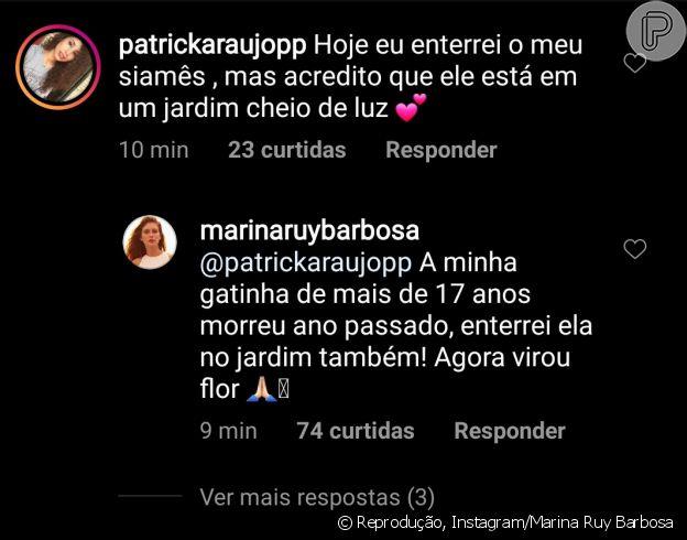 Marina Ruy Barbosa revela detalhe curioso e fofo sobre sua pet anterior