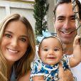 Filha de Ticiane Pinheiro e Cesar Tralli encanta famosas com detalhe fofo em foto postada pela apresentadora neste sábado, dia 28 de março de 2020
