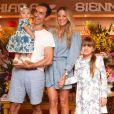 Rafaella Justus mora com a mãe, Ticiane Pinheiro, o padrasto Cesar Tralli e a irmã mais nova, Manuella