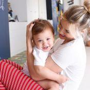 Andressa Suita filma rotina noturna com filho e banheiro impressiona. Veja!