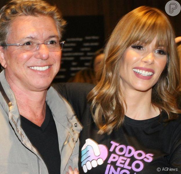 Boninho ganha elogios de famosos em vídeo com Ana Furtado nesta quarta-feira, dia 15 de abril de 2020