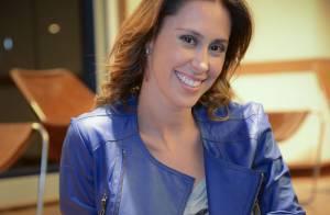 Dani Monteiro, repórter do 'Mais Você', está grávida pela 2ª vez: 'Quatro meses'