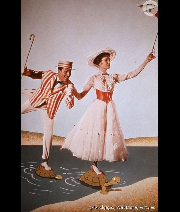 O clássico Mary Poppins conquista fãs de todas as idades