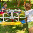 Andressa Suita mostrou momento de diversão entre os filhos