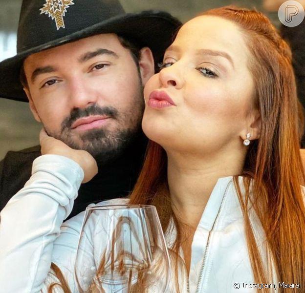 Maiara indica desejo por casamento com Fernando e famosos mostram torcida em post de sábado, dia 09 de maio de 2020
