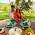 Maiara e o namorado, Fernando Zor, ganharam elogios de famosos em foto de beijo