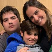 Mulher de Faustão, Luciana Cardoso apoia bariátrica do filho de 16 anos. Veja!