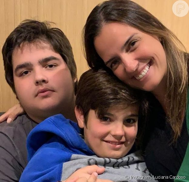 Mulher de Fausto Silva, Luciana Cardoso falou sobre cirurgia bariátrica do filho de 16 anos