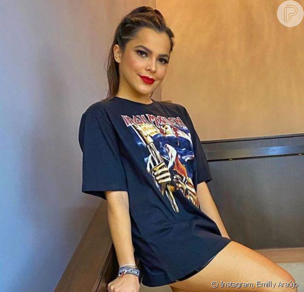 Cabelo de ex-BBB Emilly Araújo chamou atenção em foto na web