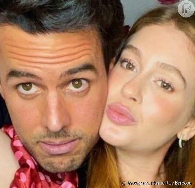 Marina Ruy Barbosa fala sobre ciúmes em relação com marido, Alexandre Negrão