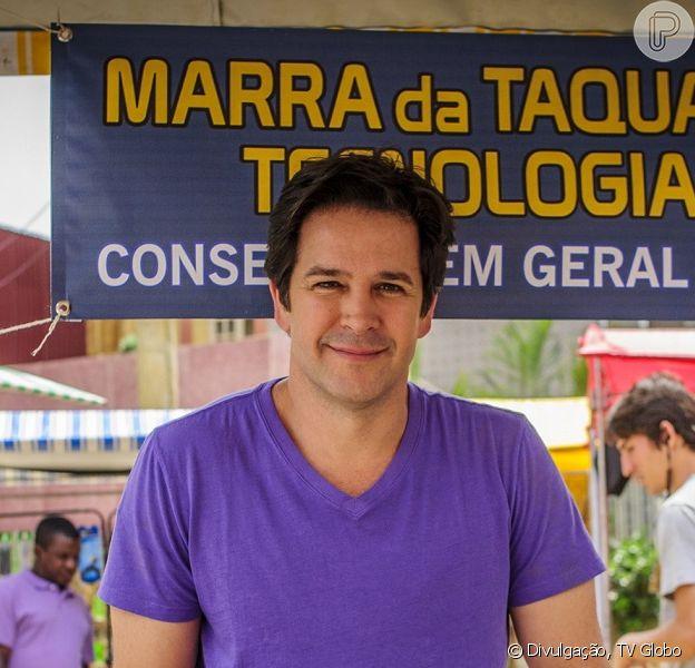 Jonas (Murilo Benício) recebe a notícia de que não será deportado, no penúltimo capítulo de 'Geração Brasil', em 30 de outubro de 2014