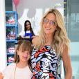 Ticiane Pinheiro bancou a cabeleireira da filha mais velha, Rafaella Justus: 'Olha que bonitinho ficou!'