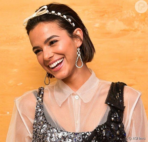 Bruna Marquezine estreia no Tik Tok e Maisa reage à vídeo com meme. Veja em matéria nesta quinta-feira, dia 25 de junho de 2020