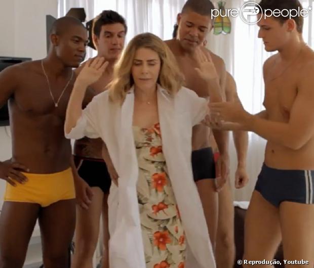 Maitê Proença participa de vídeo de humor para a produtora 'Porta dos Fundos', lançado nesta quinta-feira, 28 de fevereiro de 2013