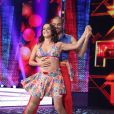 Lucélia Santos foi destaque entre os participantes do reality 'Dança dos Famosos' em 2014