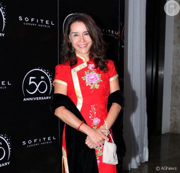 Lucélia Santos, que participou do 'Dança dos Famosos', pode voltar a atuar nas novelas da TV Globo