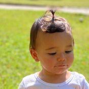Filha de Ticiane Pinheiro, Manuella se esbalda em brincadeira com lama. Fotos!