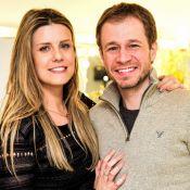 Tiago Leifert e Daiana Garbin, à espera da 1ª filha, escolhem nome: 'Nossa Lua'