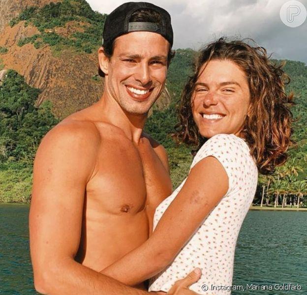 Mariana Goldfarb falou do desejo de ter filhos com marido, Cauã Reymond
